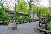 Spring Park Planter — Stock Photo