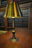 Brass Lamp — Stock Photo