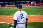 Derek Jeter Number 2 — Stock Photo