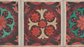 Pattern on fabric — Stock Photo