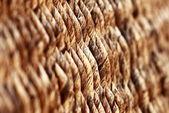 Wicker basket texture — Stock Photo