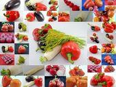 Paprika, rajčata, zelenina — Stock fotografie