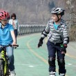 ストック写真: Children, boys, sports, walk