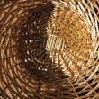 Basket, pen, background, brown, — Stock Photo