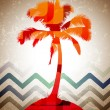 Abstract Tropical Background — Image vectorielle