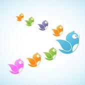 Social Media Followers — Stock Vector