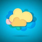 Chmura — Wektor stockowy