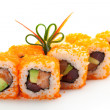 Roll with Masago - Stock Photo