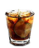 Cocktail - Cuba Libre — Stock Photo
