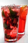 Red Cocktails — Stock Photo