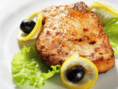 Fish Steak — Stock Photo