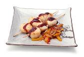 Heiße japan essen auf einem teller — Stockfoto