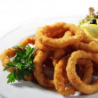 Seafood - Fried Calamari — Stock Photo #12503533