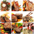 Hot Meat Dishes — Stock Photo #12503939