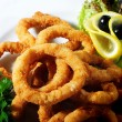 Seafood - Fried Calamari — Stock Photo