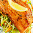 Fillet of Salmon — Stock Photo