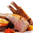 Roasted Lamb Chops — Stock Photo