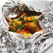 Stock Photo: Baked Fish in Foil