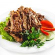Stock Photo: Hot Meat Dishes - BBQ Meat
