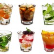 Stock Photo: Cocktail Collection