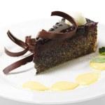 Dessert - Chocolate Cake — Stock Photo #12505297