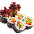 Japanese Cuisine - Vegetarian Sushi — Stock Photo