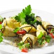 Royalty-Free Stock Photo: Side Dish - Baked Eggplant