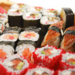 Japanese Cuisine - Sushi Set - Stock Photo