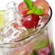 Cocktail - Grape Mojito - Stock Photo