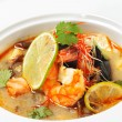 Thai Dishes - Tom Yam Kung - Stock Photo