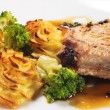 Hot Meat Dishes - Bone-in Pork Brisket - Lizenzfreies Foto