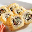 Unagi Fry Roll - Stock Photo