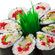 Prawn and Cucumber Roll — Stock Photo