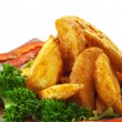 Deep Fried Potato - Stock Photo