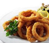 Seafood - Fried Calamari — Stock Photo