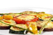 BBQ Eggplant — Stock Photo