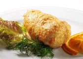 FIlleted Chicken — Stock Photo