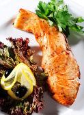 Fish Steak — Stock Photo