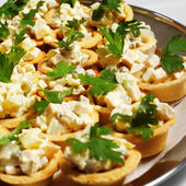 Tartlet Plate — Stock Photo