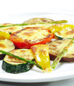 Side Dishes - Grilled Vegetables — Stock Photo