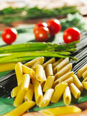 Livsmedelsingrediens - pasta — Stockfoto