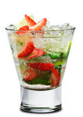Cocktail - berry mojito — Stockfoto