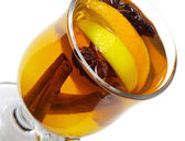 Winter Cocktail -Mulled Wine — Stock Photo