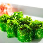 Japanese Cuisine - Maki Sushi — Stock Photo