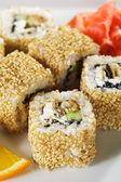 Unagi Maki Sushi — Stock Photo