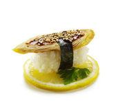 Egg Sushi — Stock Photo