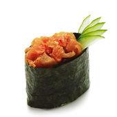 Spicy Tuna Gunkan — Stock Photo