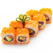 Stock Photo: Roll with Masago