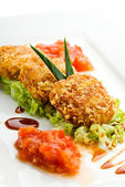 Meat Croquette — Stock Photo