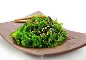 竹卡海藻沙拉 — 图库照片
